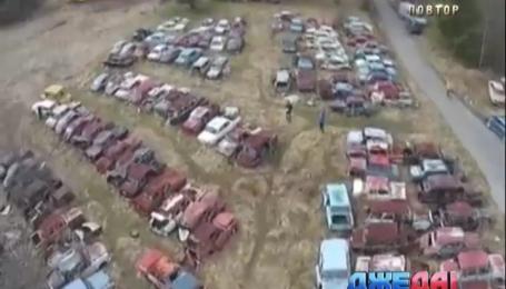 В некоторых странах нашли автокладбища