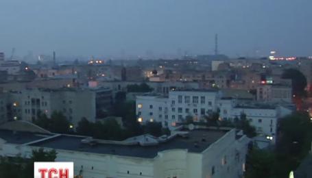 У Києві смог накрив Троєщину