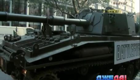В Лондоне курсирует танк-такси
