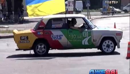 Чемпионат по автослалому состоялся в Смеле