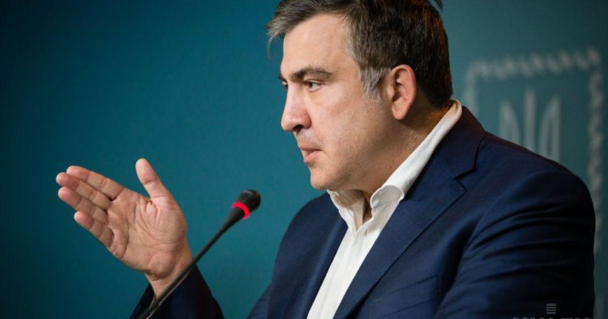 Саакашвили рассказал, планирует ли он занять место Яценюка