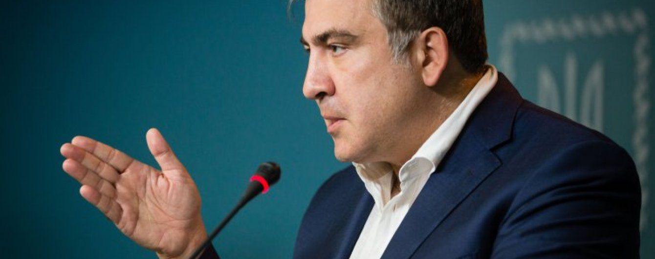 Жебрівський та Саакашвілі обмінялися різкими звинуваченнями
