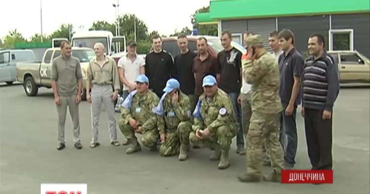 Вместо 12 на украинскую территорию вернулись 11 освобожденных пленных