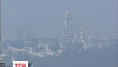 Три райони Києва потерпають від забруднення смогом від торф'яних пожеж