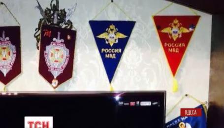 У кабінеті начальника одеської міліції знайшли вимпели та прапорці російського МВС