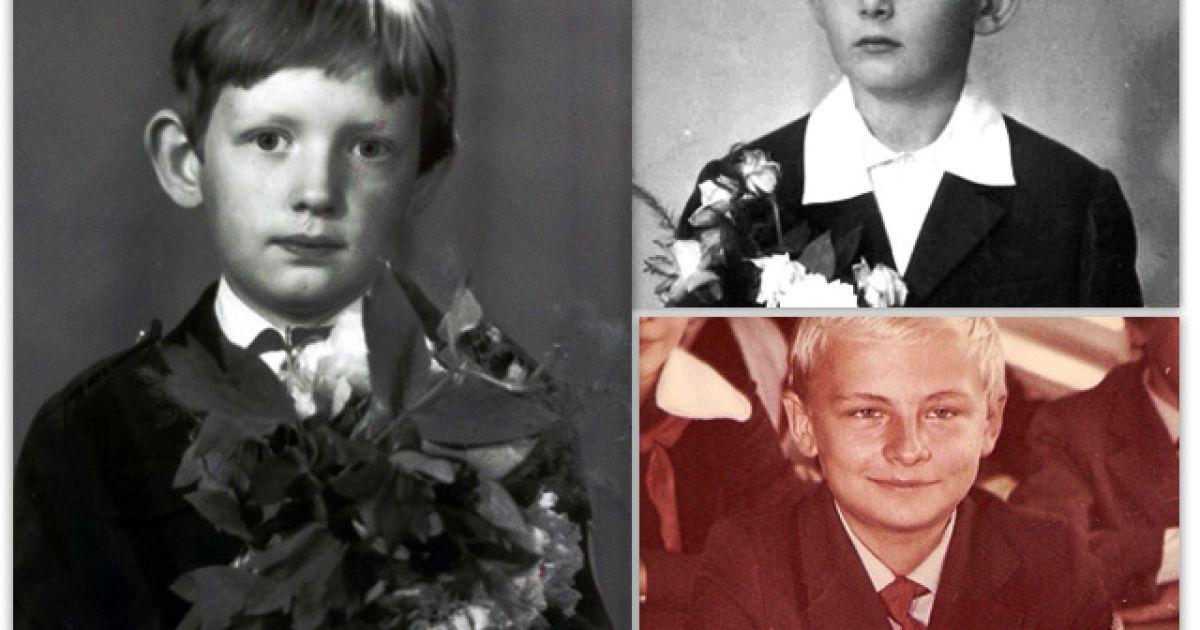 Вспомнить все. Как выглядели украинские политики в первом классе