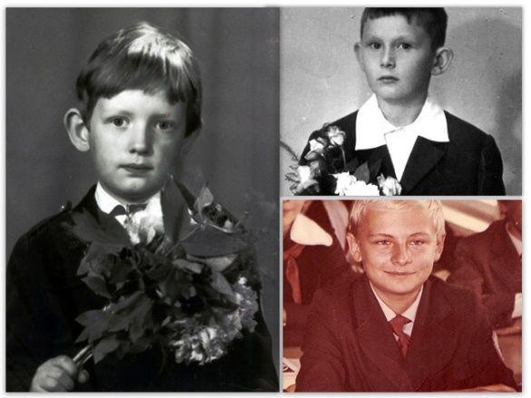 Колаж малих Яценюка, Луценка і Садового