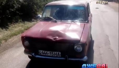 Пьяный водитель убил на дороге бабушку