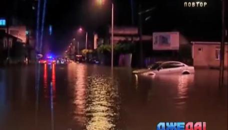 Батуми заливают дожди