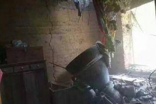 В Китае ракетный двигатель пробил крышу жилого дома