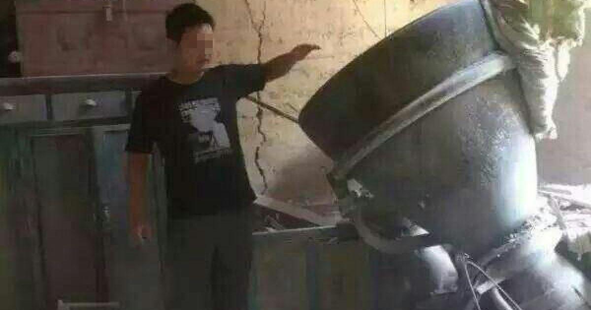 Від падіння двигуна ніхто не постраждав @ news.qq.com