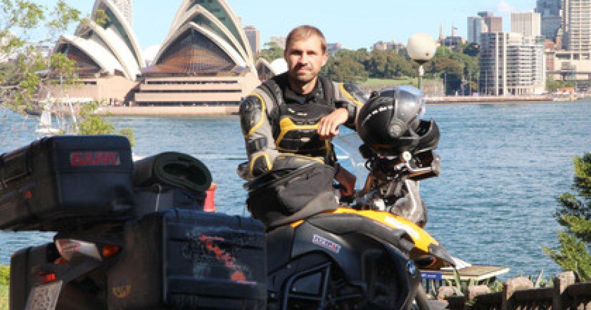 В Египте трагически скончался известный украинский байкер-путешественник