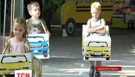 У Дніпропетровську відкрилась дитяча школа з вивчення правил дорожнього руху