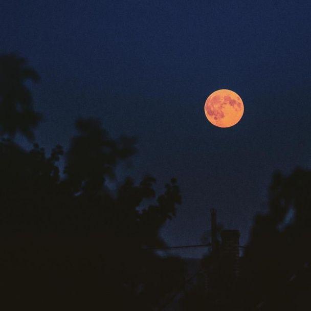 Жителі Землі милуються нейворіної краси гігантським Місяцем