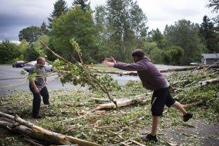 Повалені дерева, побиті автівки та сотні тисяч євро збитків. Варшавою пронісся руйнівний ураган