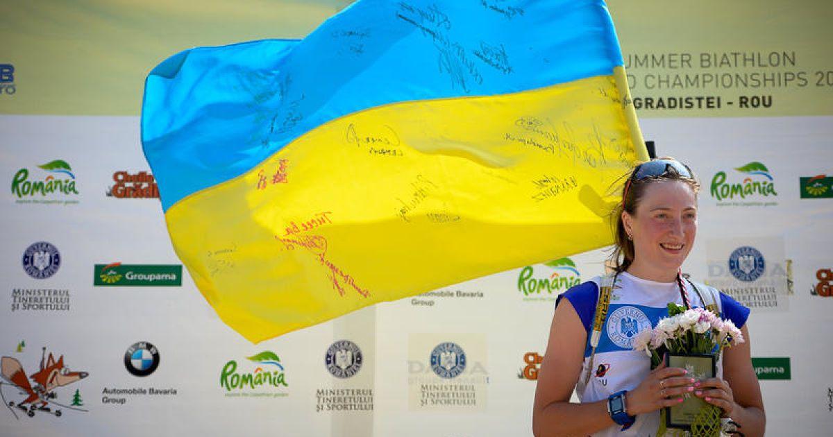 Биатлонистка Ольга Абрамова стала чемпионкой мира @ biathlonworld