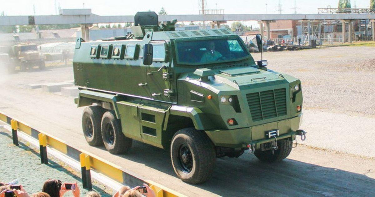 В Украине презентовали новейший бронеавтомобиль КрАЗ Feona
