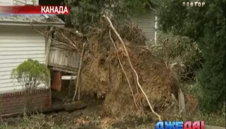 Более миллиона людей в плену шторма в Канаде