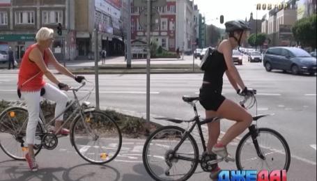 В Польше велосипедисты должны сдавать тест на умение водить