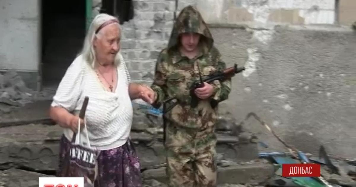 ТСН знайшла новий дім бабі Шурі із зони АТО, яка жила в зруйнованому танком будинку
