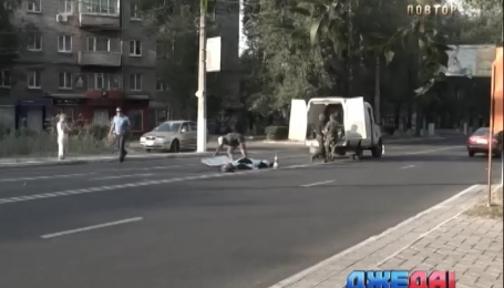 В Мариуполе Lanos сбил насмерть велосипедиста