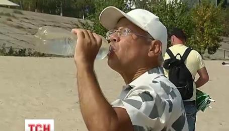 Сегодняшняя жара в Украине побила рекорд