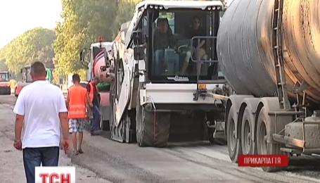 Жителі кількох сіл на Прикарпатті понад чотири години блокували дорогу Мукачеве-Львів