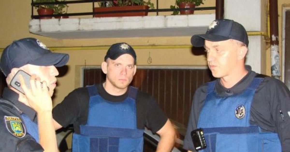 На место происшествия приехали правоохранители @ zaxid.net