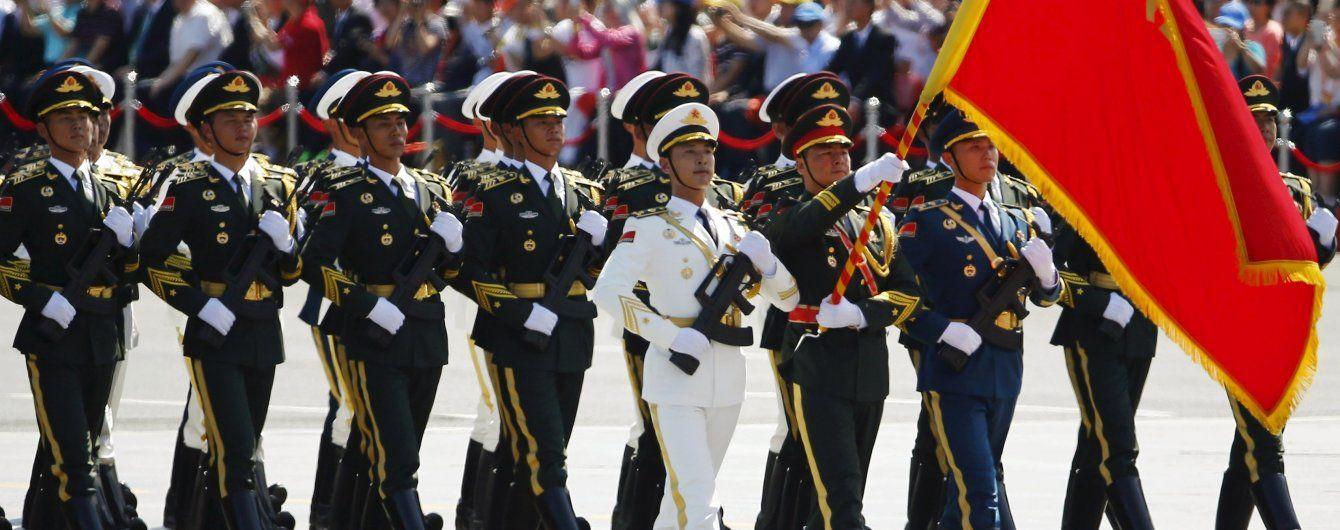 В армії Китаю створили три нові підрозділи