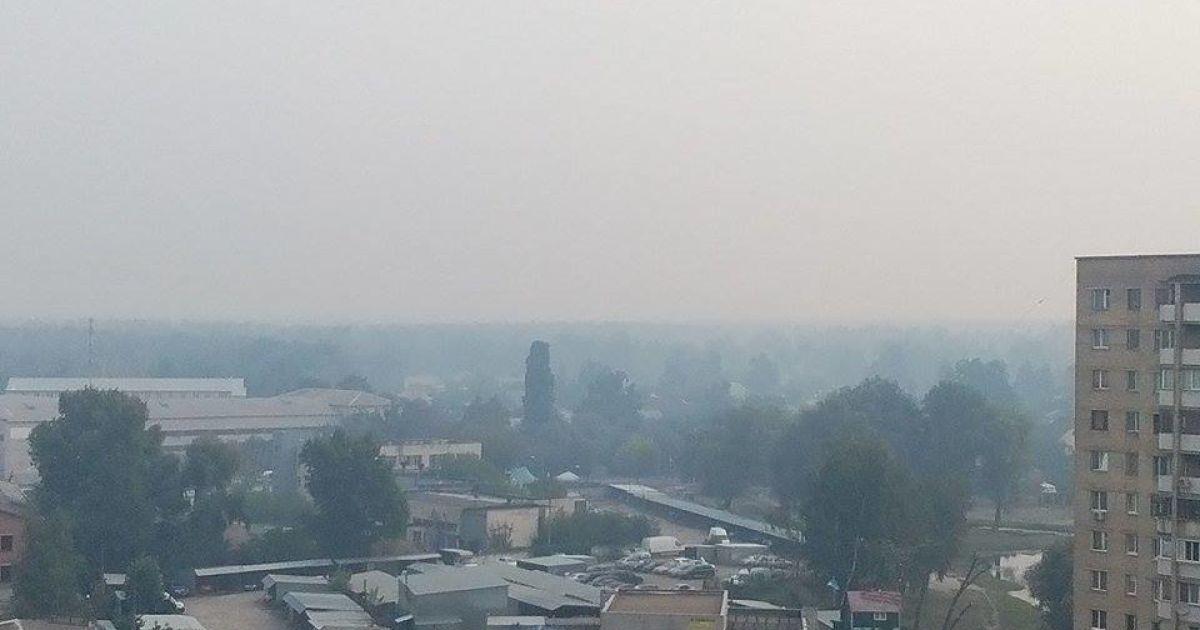 Вредных веществ в воздухе Киева нет - КГГА