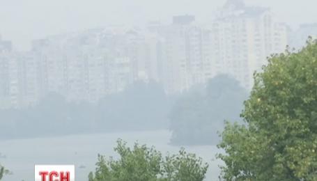 В Киеве зафиксировано значительное превышение концентрации вредных веществ в воздухе
