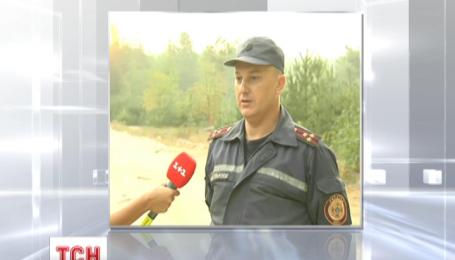 Увечері пожежники відзвітували про перемогу над пожежею у Дарницькому лісгоспі