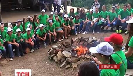 5,5 тысячи юных украинцев этим летом отдохнули в легендарном лагере «Артек-Буковель»