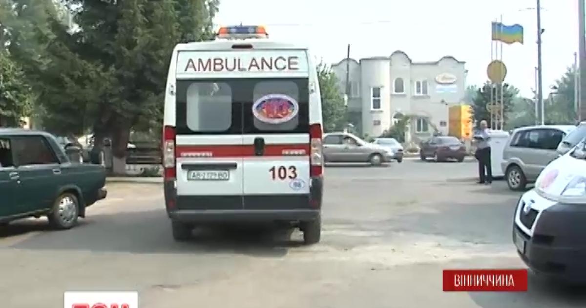 Массовое отравление студентов на Винничине: палаты и даже коридоры в местной больницы переполнены
