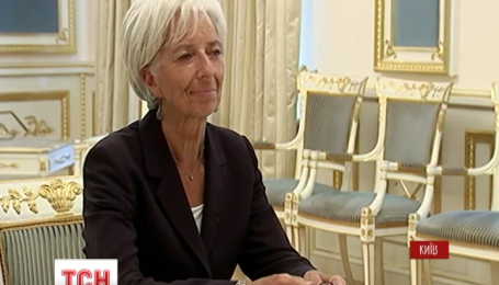 В Украину прибыла директор МВФ Кристин Лагард