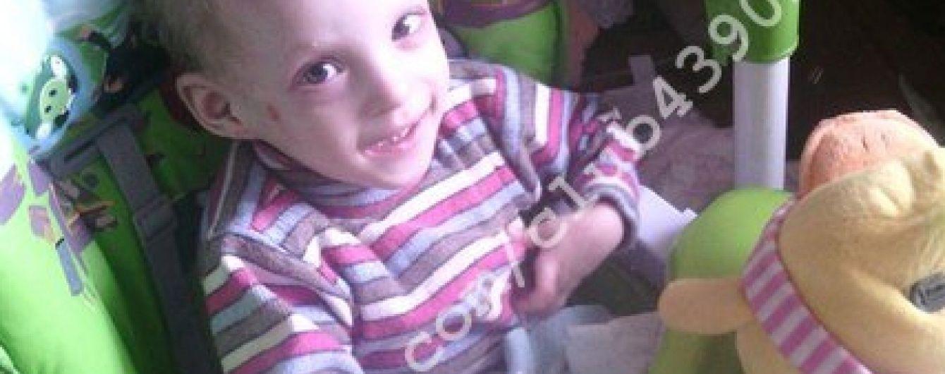5-річна Евангеліна потребує допомоги