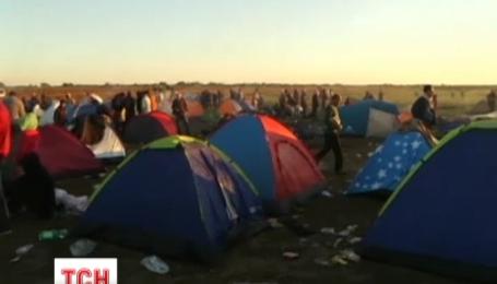 На острове Лесбос второй день проходят столкновения между мигрантами и полицией