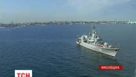 В акваторії Чорного моря стартувала активна фаза українсько-американських навчань «Сі Бриз-2015»