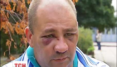 В столице жестоко избили начальника управления Укртрансинспекции Александра Гринюка