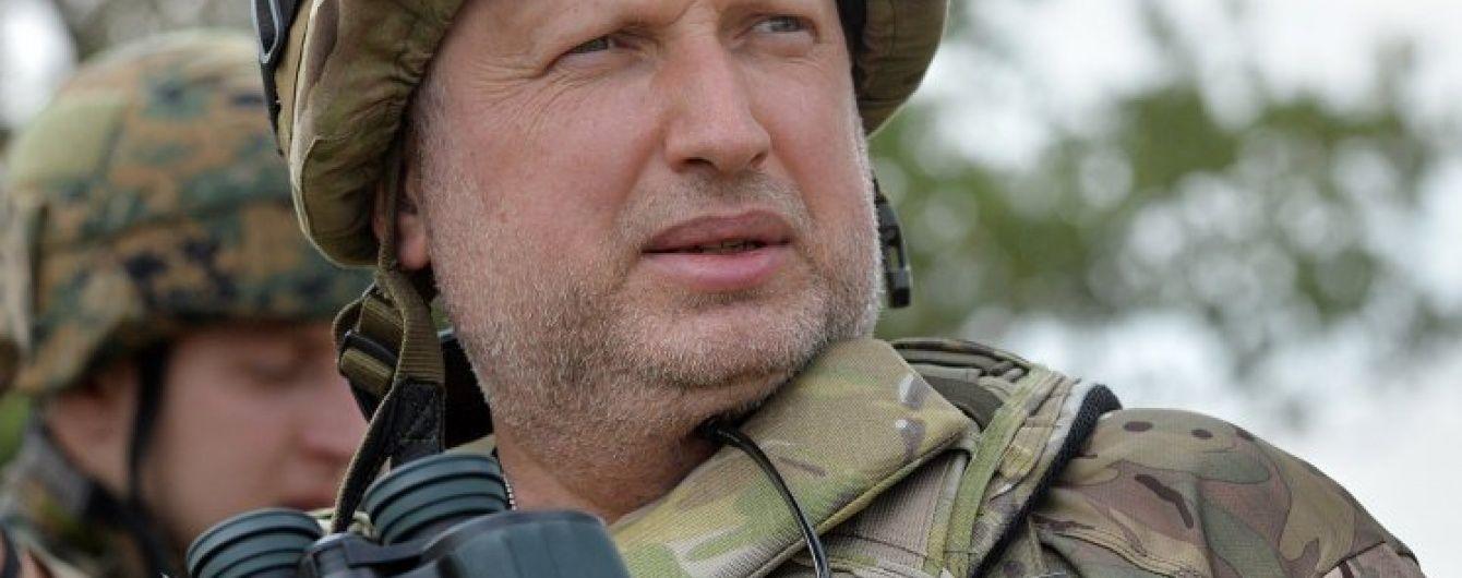 За минулу добу бійці АТО двічі відбили атаку бойовиків – Турчинов