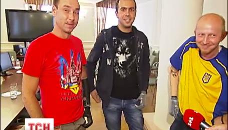 Трое бойцов АТО получили современные импульсные протезы рук
