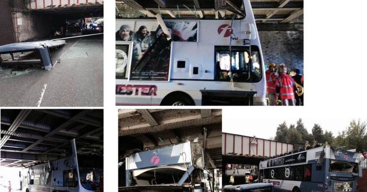 В результате ДТП пострадали 17 человек @ twitter.com/daismurphy