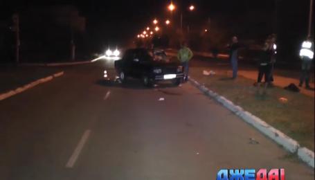 На Днепропетровщине водитель ВАЗа сбил троих человек