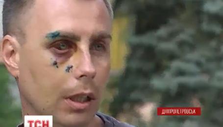 У Дніпропетровську мажор жорстоко побив працівника СТО