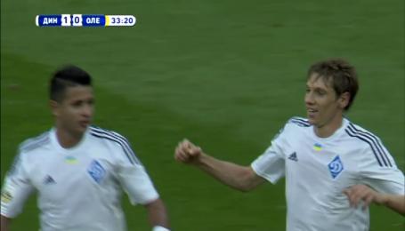 Динамо - Александрия - 1:0. Видео гола Гармаша