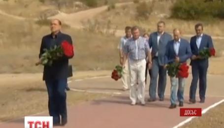 Второй день Владимир Путин и Сильвио Берлускони развлекаются в оккупированном Крыму