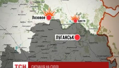 8 раз боевики отрывали огонь по позициям украинских военных за прошедшие сутки