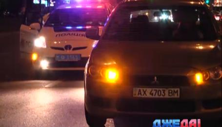 Автоледи спровоцировала аварию в столице
