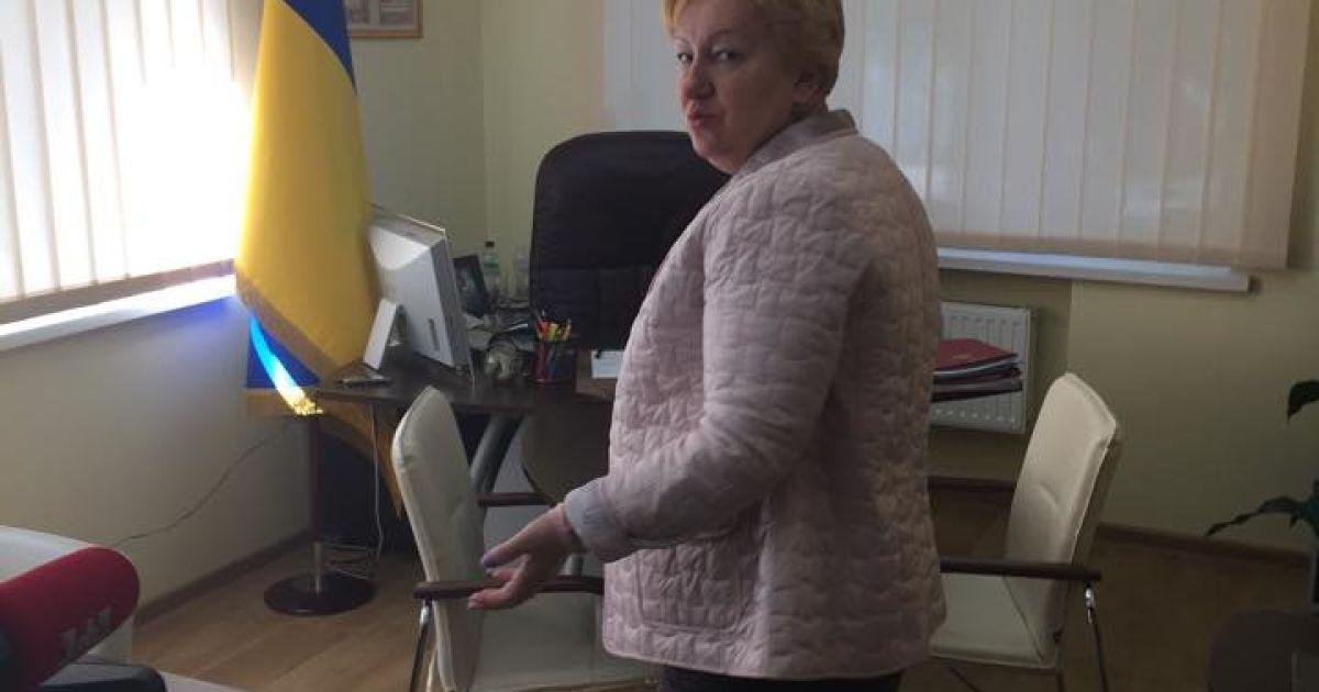 Ульянченко не убегала из Киева @ Фото Ольги Василевской/ТСН