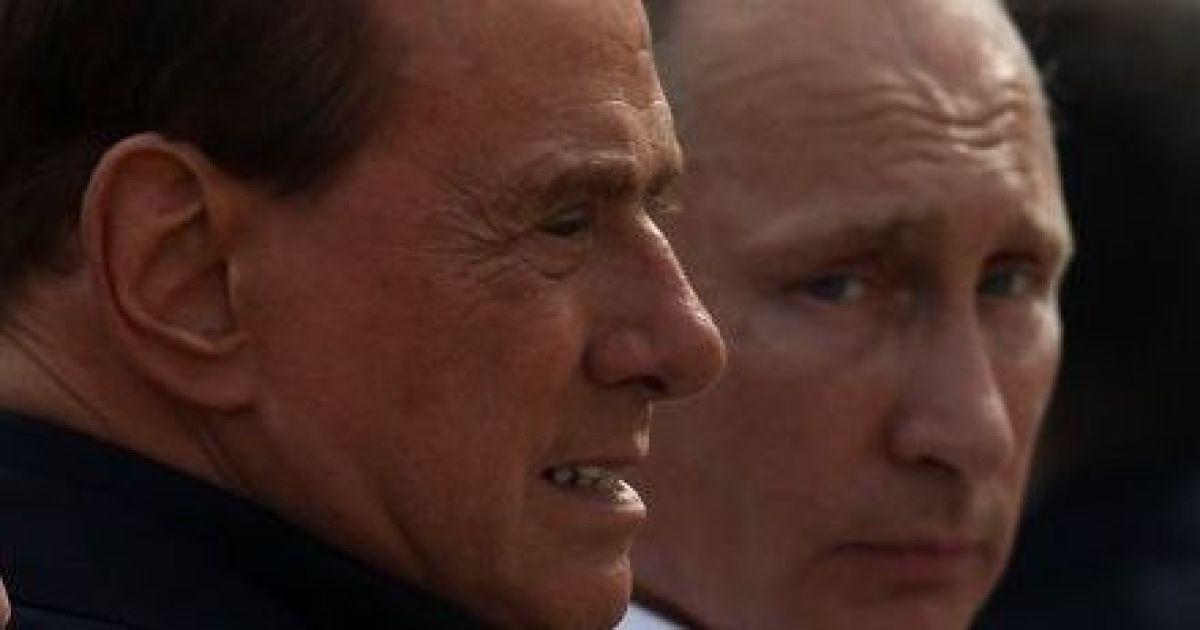 Путин и Берлускони провели уикенд в Крыму @ Getty Images